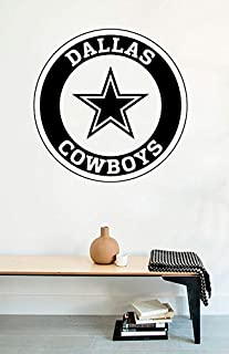 Wall Decals Dallas Cowboys Logo American Football Vinyl Stickers Mural M0354