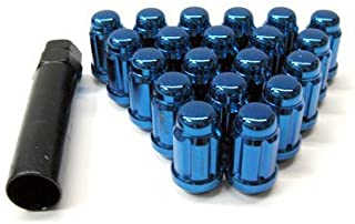 Muteki (Close End Blue 12x 1.25) Super Tuner Nuts Light Weight Wheel Lug Nut