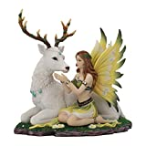 Nemesis Now Adoration Figurine 23.5cm White Figura Decorativa (23,5 cm), Color Blanco,...