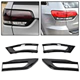 Tail Light Lamp Cover Trim Bezel Replacement for 68220970AA 68220968AA 68219812AA 68219813AA