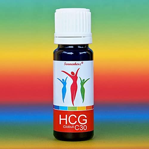 Hormonfreie HCG C30 Globuli in Spitzenqualität. 20g Flasche + Nachfüllpack. Radionisch/bioenergetisch im Bioresonanzverfahren in Deutschland hergestellt
