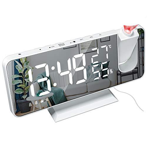 Radio Reloj Despertador Digital  marca DN