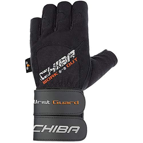 Chiba Herren Handschuhe Wristguard II, schwarz, M