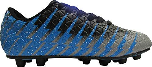 Vizari Bolt FG Soccer Shoes for Kids, Firm Ground Outdoor...