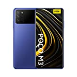Xiaomi Poco M3 - Smartphone 4+64GB, 6,53'' FHD+ Dot Drop Display, Snapdragon 662, 48MP AI Tripla Camera, 6000 mAh, Cool Blue (versione ufficiale, due anni di garanzia), 64 Gb