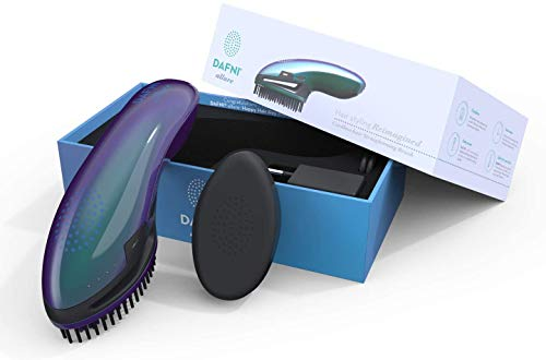 DAFNI Allure Brosse à Lisser Portable - Coiffe les cheveux jusqu'à 10 fois plus vite qu'un fer plat [EU Plug]