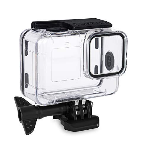 Estuche Impermeable para cámara de acción Compatible con Go Pro Hero9, Carcasa Protectora para cámara subacuática, Carcasa Impermeable para cámara Deportiva