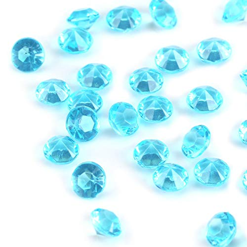 Light Acrylic Beads, Blue Beads Garland Chandelier Decor Beads 1000pcs/bag Crafts Ideas Acrylic
