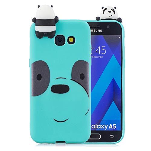 Yobby Hülle für Samsung Galaxy J4 Plus,3D Cartoon Süß Tiere Slim Weich Silikon Gummi Gel Handyhülle,Kinder Mädchen Teen Jungs Cool Schön Kawaii Rückseite Schutzhülle-Hellblau Bär