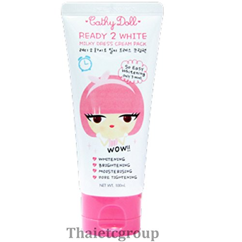 Thailand Karmart Cathy Doll Ready 2 White Milky Dress Cream Pack Whitening Brightening