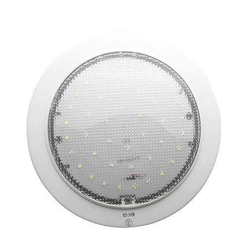 READY 12 V-24 V LED lámpara de techo interruptor de encendido/apagado para caravana, remolque, montaje en superficie de barco (RW)