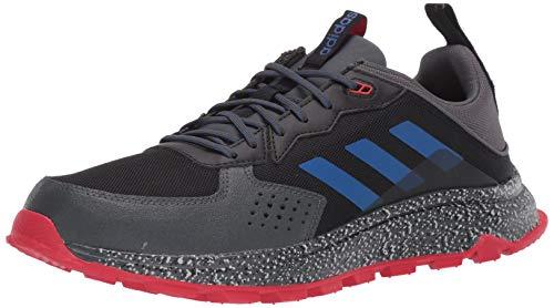 adidas Men's Response Trail Running Shoe, core Black/Team Royal Blue/Grey Six, 14 M US