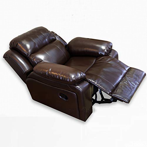DNNAL Electric Power Lift Recliner Stuhl Sofa, Multifunktionaler Massage-Schaukelstuhl für ältere Menschen, USB-Anschlüsse, Kunstleder