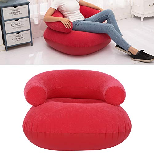 wosume 【𝐒𝐩𝐫𝐢𝐧𝐠 𝐒𝐚𝐥𝐞 𝐆𝐢𝐟𝐭】 Inflatable Chair, Ergonomic Designed Inflatable Lounger, with Armrest for Living Room Beach Hiking Outdoor Courtyard Bedroom