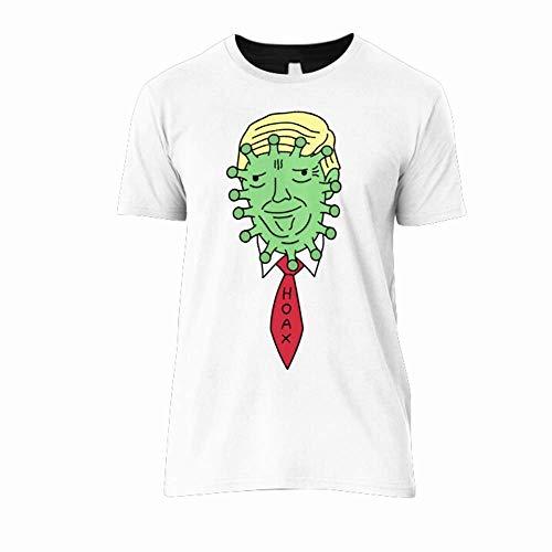 Donald Trump Córonavirus Hoax Classic T-Shirt Team T-Shirts New Style Shirt For Girls Unique T-Shirts Vintage Classic Customize T-Shirt