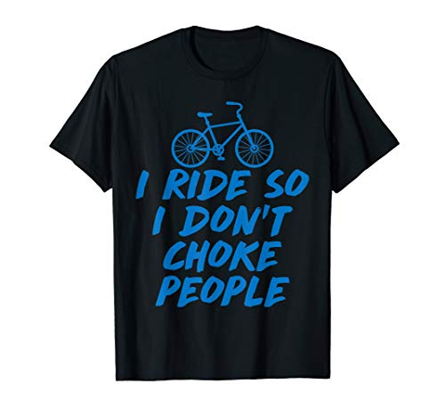 I Ride So Funny BMX, Mountain Bike, MTB, Cycling T Shirt