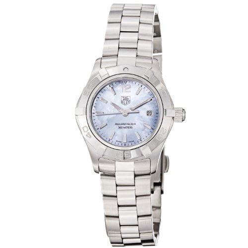 [タグホイヤー]TAGHEUER 腕時計 アクアレーサー 300m防水 ブルーシェル WAF1417.BA0823 レディース [並行輸入品]