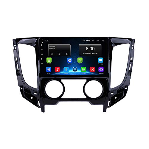 Manual Mitsubishi Triton Strada L200 Barbarian Strakar Fiat Fullback Android 9.1 Car Radio GPS Player Navigation System Head Unit HD Touchscreen Stereo WiFi BT