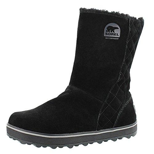 Sorel Women's Glacy Snow Boot,Black,7 M US