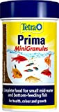 Tetra Prima Fish Food Mini Granules , Complete Fish Food for Small Mid-Water and Bottom-Feeding Fish, 100 ml