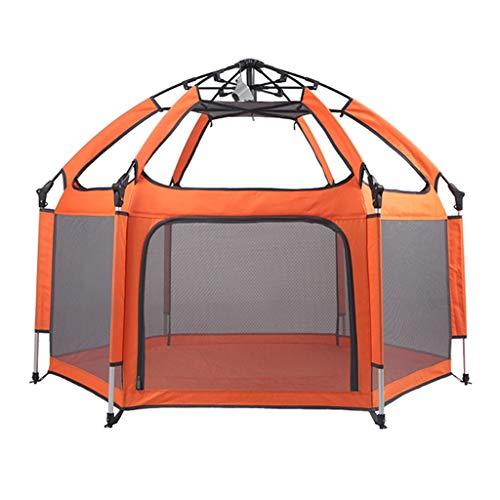 ZHUIL-Baby playpens Infant Toddler Fence Oxford Cloth Grand Espace/Pliable/Facile à Installer/Facile à Transporter Taille du Garde-Corps pour BéBé: 150x130x100cm Size