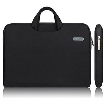 Arvok 11 11.6 12 Inch Water-resistant Laptop Sleeve Bag with Handle Black