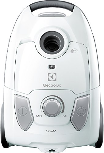 Electrolux EEG41IW Aspirapolvere con Sacco, Hygiene Filter 12, 600 W, 3.5 Litri, 80 Decibel, Bianco