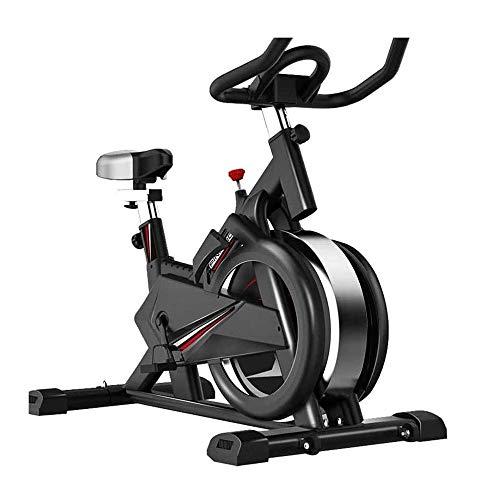 WJFXJQ Bicicleta de Ejercicio portante 660 Lbs Cubierta de capacidades Ciclo de la Bici con la tablilla de Soporte y Pantalla LCD for el hogar de Entrenamiento, con el Rodillo for Easy Mobile