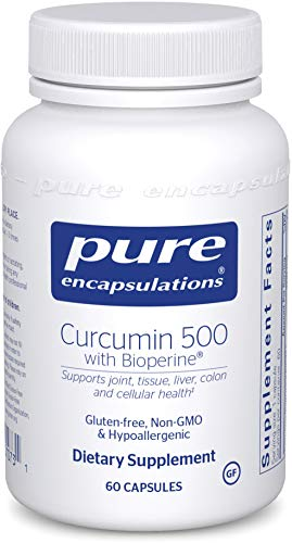 Pure Encapsulations - Curcumin 500 with Bioperine - Antioxidants for The Maintenance of Good Health* - 60 Capsules