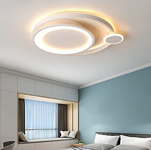 Lámpara de techo LED para dormitorio mesa de comedor regulable con mando a distancia lámpara de techo moderna de diseño lámpara de salón lámpara colgante para cocina pasillo baño decor lámpara