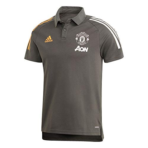 adidas Manchester United 2020/21 MUFC Polo Unisexe pour Adulte XXL tieley