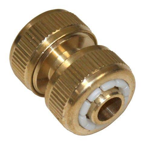 Aerzetix: Tuinslang, verbinding, tuinslang, verbinder, tuinslangverlenging, koppeling, 1/2 inch, metaal