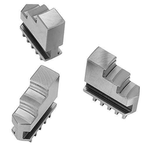 Mandril autocentrante, 3 piezas/par Mandril de torno resistente, para procesamiento de metales K11-80