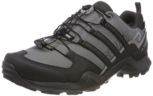 adidas Terrex Swift R2 GTX, Stivali da Escursionismo Uomo, Grigio (Gricin/Negbas/Carbon 000), 38 2/3 EU