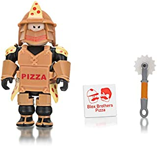 Roblox Loyal Pizza Warrior 2.75 Inch Figure with Exclusive Virtual Item Code