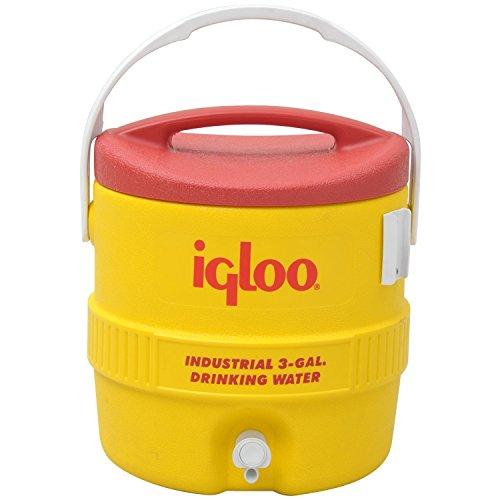 Igloo(イグルー) ウォータージャグ 400S 8L 2ガロン スポーツ アウトドア 00000421 イエロー/レッド