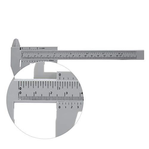 Regla de cejas para maquillaje, 150 mm posicionamiento de la plantilla de...