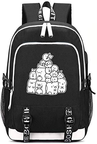 FDRG-NHGB Mochila de animacin, fanticos de cosplay, productos perifricos de animacin, regalo, mochila de anime de esquina, biolgico, bolsas de hombro para nios, mochila escolar, regalos (2)