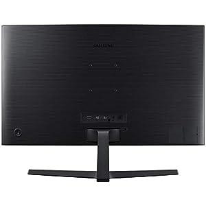 Samsung LC24F396FHU - Monitor para PC Desktop de 24'' (1920 x 1080 pixeles, Full HD, HD 1080, 3000:1, mega contrast), color negro