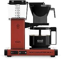 Moccamaster KBG 741 Select CD Overflow Kaffebryggare 1520 W, 1,25 l, Röd