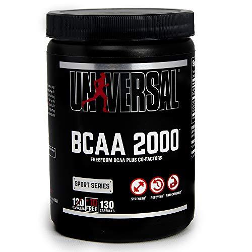 Universal Nutrition Bcaa 2000 Supplément 120 Gélules