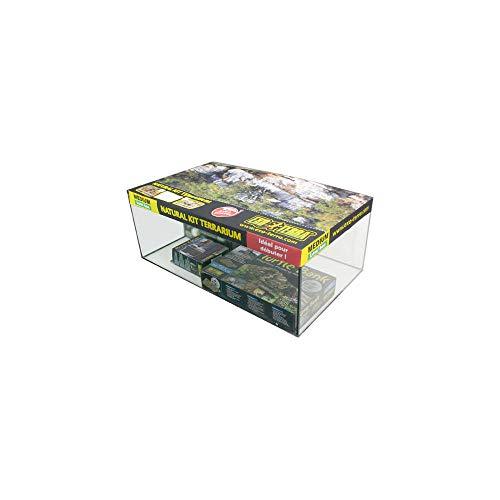 Exoterra Kit Terrarium pour Tortue Aquatique 60 x 35 x 23 cm
