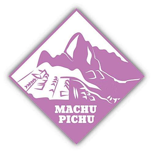 Machu Pichu Travel Peru Retro Metal Sign 12x12 Inch