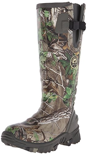 "Irish Setter Women's 4885 Rutmaster 2.0 15"" Uninsulated Rubber Hunting Boot, Real Tree Camo, 8 E US"