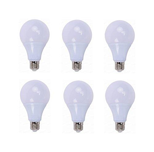WELSUN Bombillas LED de 12 voltios Base de Tornillo E26 / E27 3000K / 6000K 3W / 5W / 7W / 9W / 12W / 15W 12 voltios-24 voltios CA/CC para vehículo, RV y Barcos Interiores, Red eléctrica Externa y a