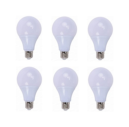 YITEJIA-LIGHTBULBS Hoogwaardig LED-licht 6-pack Low Voltage Edison schroef LED Globe lamp E26 E27 AC/DC 12-24V 3W / 5W gloeilampen voor Off Grid Solar Lighting 3000K / 6000K voor camper