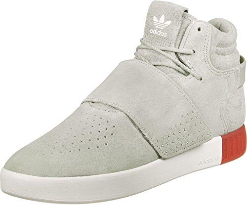 adidas Adidas Sneaker TUBULAR INVADER STRAP BB5035 Beige Weiß, Grau Rot, 46.5