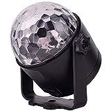 Luces del partido con la bola de luz LED remoto Disco, cristalino giratorio Magic Ball DJ luces estroboscópicas Luces espectáculo for la boda de danza DJ Bar XYJGWXDD