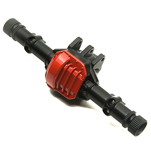 1/10 Scale RC Car Alloy Front & Rear Axle Housing Case for Axial SCX10 II 90046/90047 RC Crawler Cars