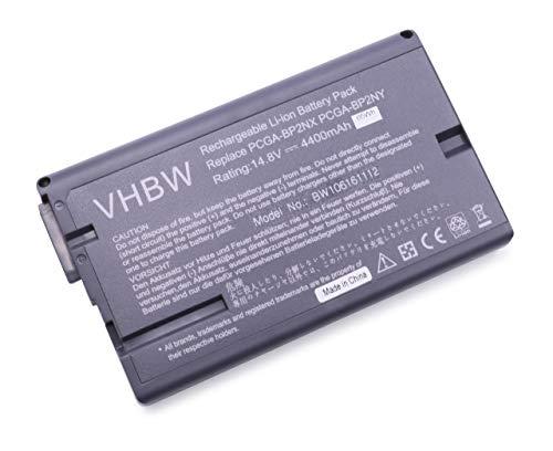 VHBW Batterie pour Sony VAIO 14,8 V 4400 mAh Remplace batteries PCGA-BP2NX / PCGA-BP2NY